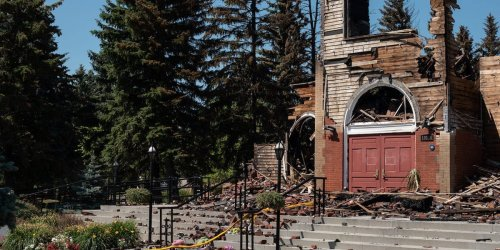 Canadian churches torched and vandalized amid fury as more graves of Indigenous children are discovered at Catholic-run boarding schools