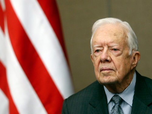 Former President Jimmy Carter says he is 'disheartened, saddened, and angry' to see Georgia legislators advance voting restrictions