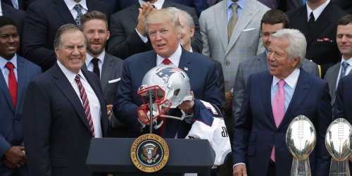 Trump accused of offering cash to late senator on behalf of New England Patriots to stop investigation of team's 'Spygate' scandal