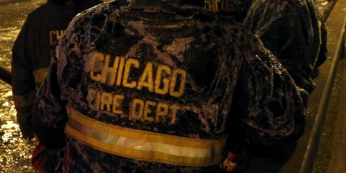 A Chicago firefighter-EMT lost their job after an investigation uncovered racist and violent social media posts advocating for hitting protestors with cars