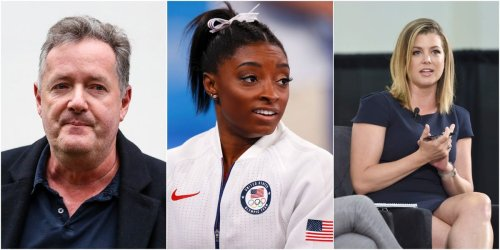 A CNN host roasted Piers Morgan for his attack on Simone Biles and said his only athletic feat is running off his own TV show