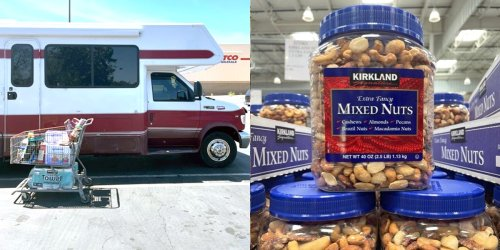 I live on the road full-time in a 27-foot RV. Here are the 15 things I always buy at Costco.