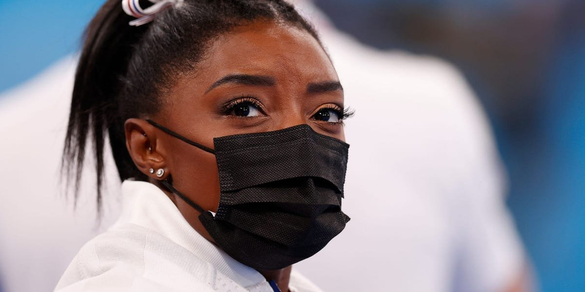 Simone Biles dropped out of the individual all-around event. What happens next is still up in the air.