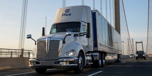 Amazon is reportedly buying 1,000 autonomous truck-driving systems, which could pave the way for one day ditching drivers