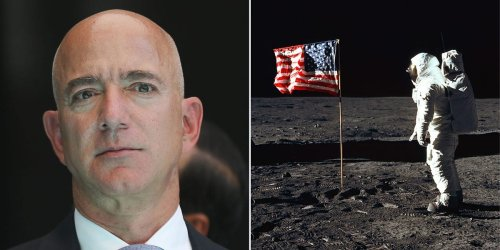 The date of Jeff Bezos' trip to space isn't a coincidence — it's the anniversary of the Apollo 11 mission to the moon