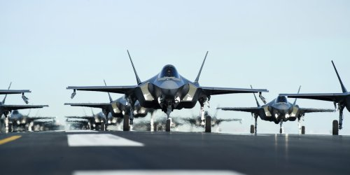 The Air Force now has more F-35s than F-15s and A-10s
