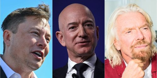 Elon Musk, Jeff Bezos, and Richard Branson each have a different plan for space. Here's how they stack up.