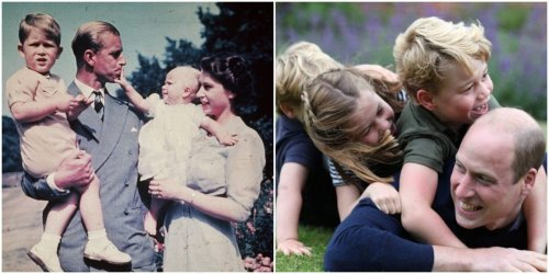 15 photos that show how fatherhood has changed in the royal family