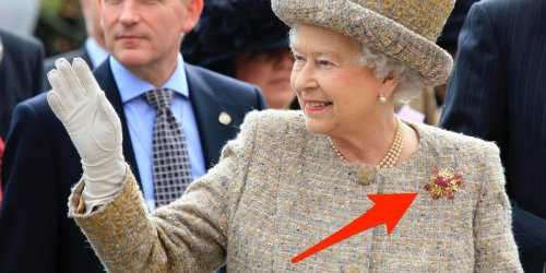 6 times the Queen paid tribute to Prince Philip with her jewelry