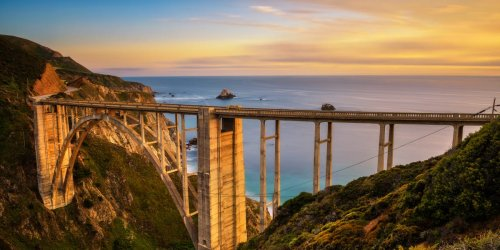 Photos show the most scenic road to drive in every state