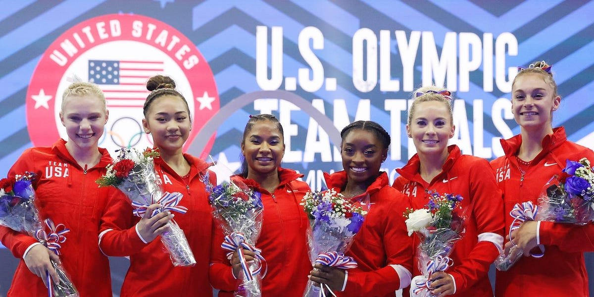The US women's Olympic gymnastics squad is complete — here's who is on Team USA