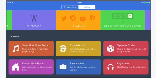 How to use Workflow, the app that Apple just bought and made free for everyone