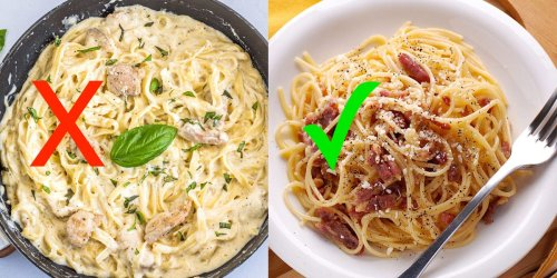 An Italian chef shares 8 dishes you should never order at an Italian restaurant, and what to try instead