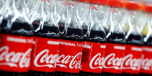 Coca-Cola's New York distributor says it's short of truckers, after a supermarket CEO complained he was struggling to get hold of the beverage giant's products