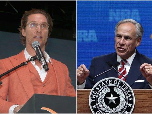 Hollywood star Matthew McConaughey has a double-digit lead over Gov. Greg Abbott in latest Texas gubernatorial poll