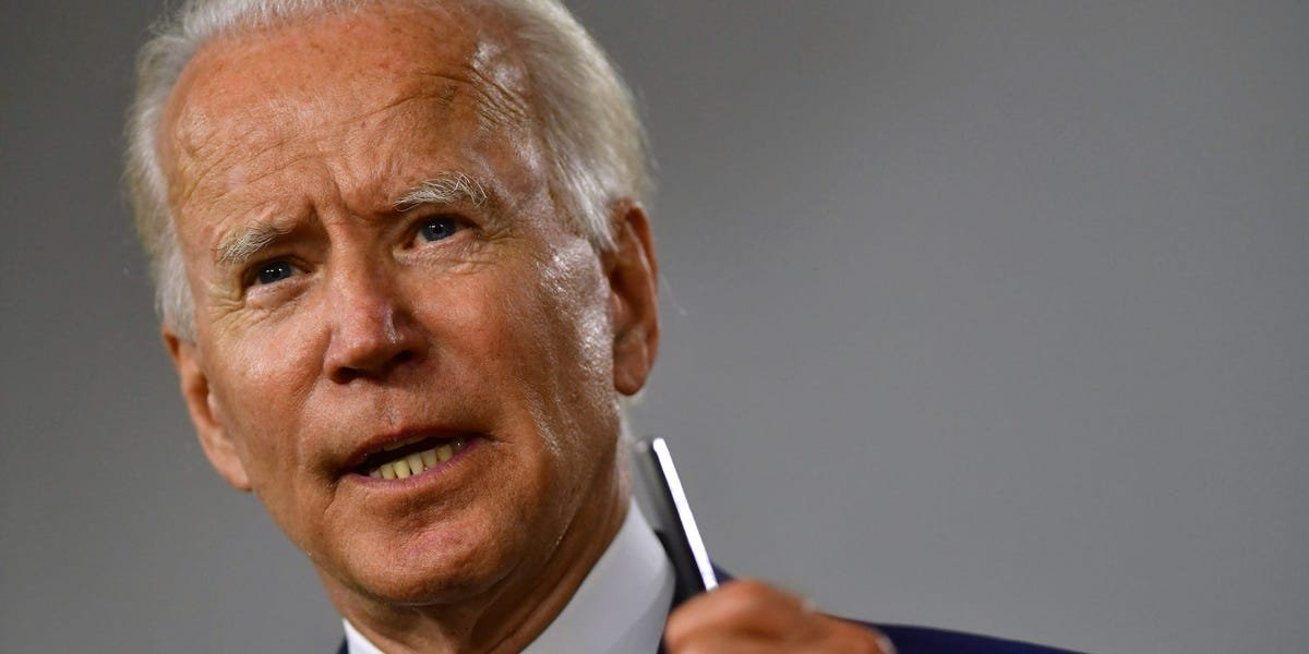 Joe Biden suggests supporters of the 'mortifying' QAnon conspiracy theory should seek mental health treatment