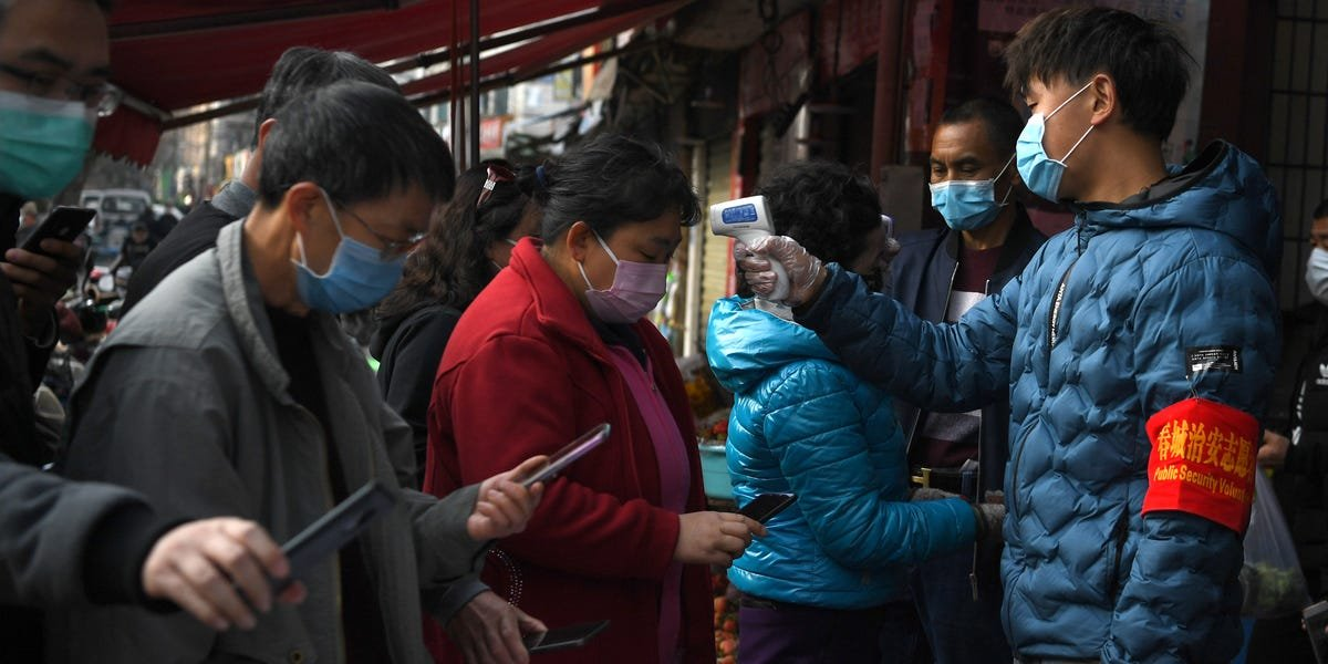 China is reportedly making people download an Alibaba-backed app that decides whether they'll be quarantined for coronavirus