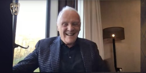 Anthony Hopkins beat Chadwick Boseman to win best actor, but skipped the BAFTAs to paint instead