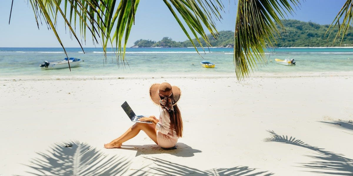 Resorts are enticing remote workers with packages that include personal trainers, spa sessions, and private cabanas