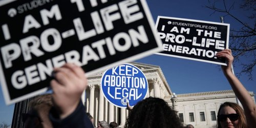62% of Americans say Roe v. Wade, which established the right to an abortion, should be left as is