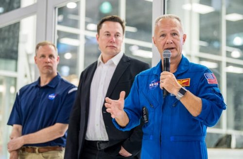SpaceX plans to launch its first people into space during the coronavirus pandemic. NASA's top executive believes the mission is critical for the world.