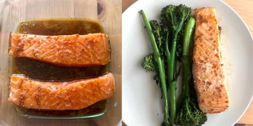 I made Ina Garten's easy salmon dish and had dinner on the table in 15 minutes