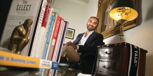 A day in the life of a 38-year-old college admissions coach who makes $1,000 an hour helping the world's wealthiest kids get into Ivy League schools