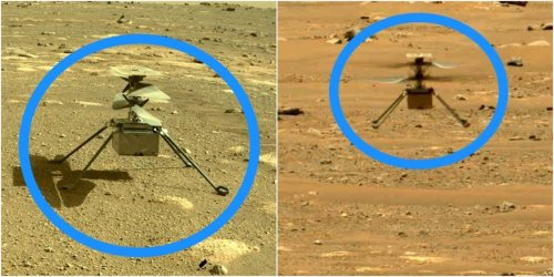 Ingenuity has done it again: NASA's Mars helicopter landed in a new spot it had never seen before