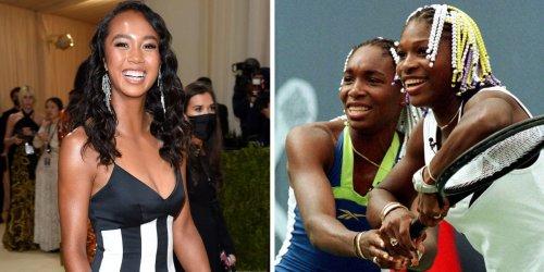 Teen US Open breakout star Leylah Fernandez wore a Met Gala dress inspired by tennis royalty — Venus and Serena Williams