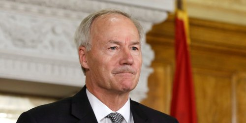 Arkansas GOP governor said the near-total ban on abortion he signed is designed to land before the Supreme Court to overturn Roe v. Wade