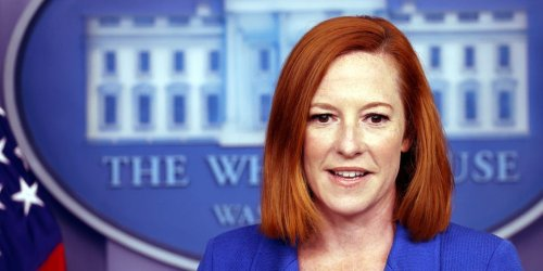 Jen Psaki said Biden would not try to influence the DOJ like Trump did, in a cutting response to a Fox News question