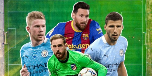 The 10 best players in every position in world soccer right now