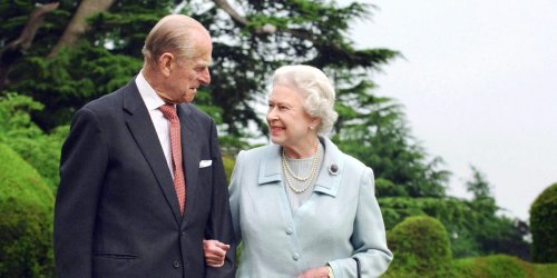 Old footage shows Queen Elizabeth calling Prince Philip her 'strength and stay'