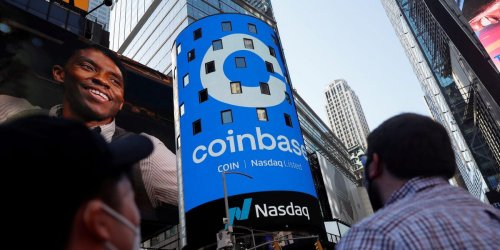 A Wall Street expert breaks down why Coinbase's 'ridiculously high' valuation should be 71% lower — and warns that the frenzy around the new stock is yet another example of why the broader market is in a bubble.
