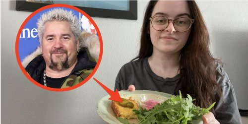I made one of the only breakfasts Guy Fieri eats, and it's my new favorite recipe