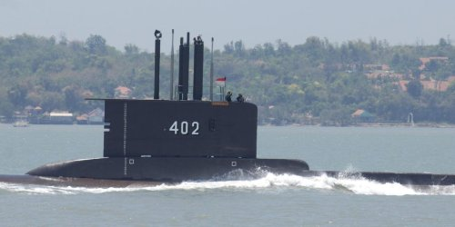 The missing Indonesian submarine may have descended too deep to rescue, navy says