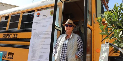 After living in a converted school bus for a year, a retiree is now $10,000 in debt and selling her schoolie — here's the one cost she didn't see coming