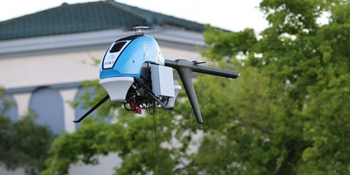 Take a look at AT&T's 'Flying COWs' — drones that returned cell service to Hurricane Ida-hit Louisiana