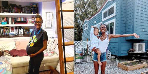 A woman's dream tiny home turned into a nightmare during her pregnancy, but she fell back in love with the lifestyle as a single mom
