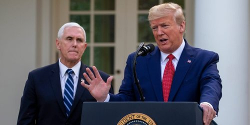 The White House had no plans in place to swear in VP Mike Pence if Trump died of COVID-19 or became otherwise indisposed, book says
