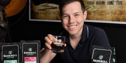 A YouTube star who launched a coffee brand breaks down how he did it, what it cost, and how much he's made