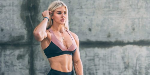 "Lifting weights is the most efficient way to get a lean physique, says CrossFit competitor turned ""Wonder Woman"" actress Brooke Ence"