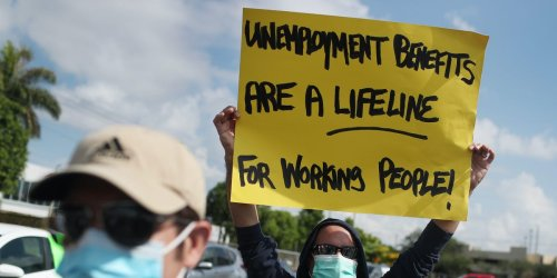 Four states cut off federal unemployment benefits Saturday — and the White House is very unlikely to step in to prevent the loss of stimulus aid