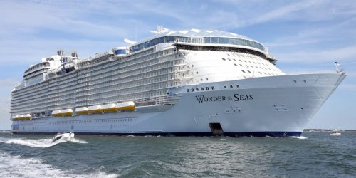 Royal Caribbean has built the world's largest cruise ship and it'll set sail in 2022 — see inside the Wonder of the Seas