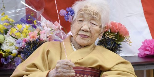 The world's oldest person pulled out of the Tokyo Olympics torch relay over fears she'd bring COVID-19 back to her nursing home