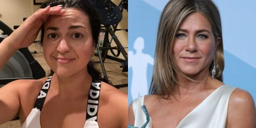 I worked out like Jennifer Aniston for a week, and I think almost anyone could follow her routine