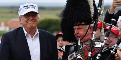 Trump's Scottish golf courses could be seized by the government under a plan to force him to reveal their funding