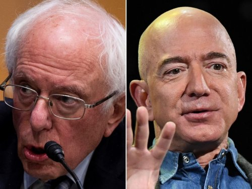 Bernie Sanders rips into Jeff Bezos: 'You are worth $182 billion ... why are you doing everything in your power to stop your workers' from unionizing?