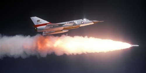 The US Air Force had a risky plan to blast Soviet bombers out of the sky with air-to-air nukes