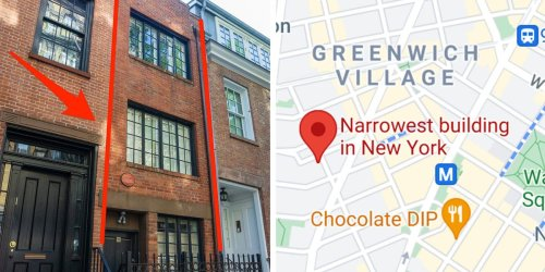 New York City's skinniest townhouse is just 9.5 feet wide and cost $3,000 per square foot